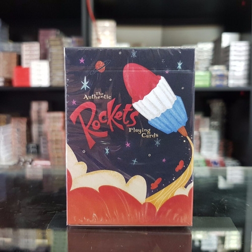rockets playing cards - enjoy the magic