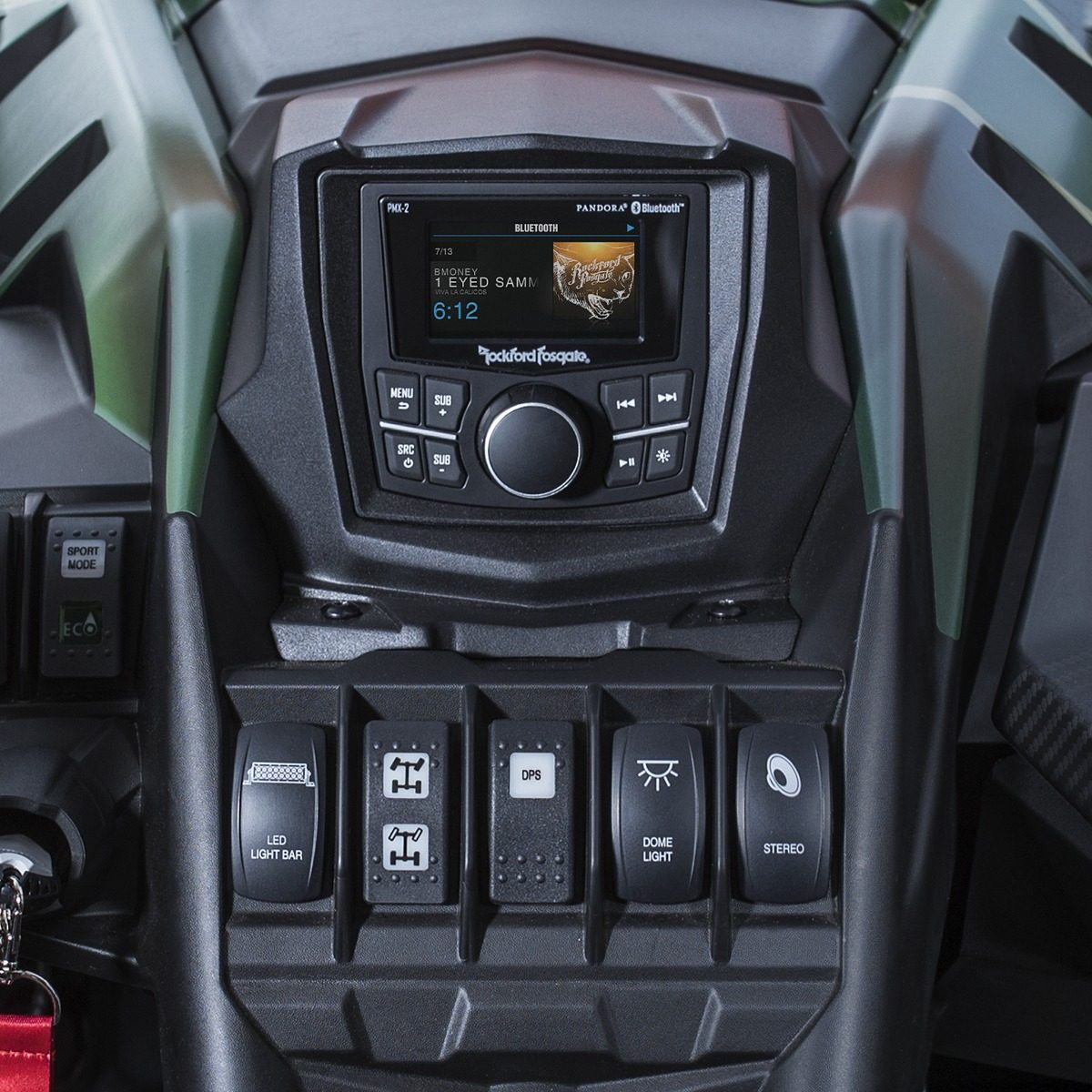 Rockford Fosgate X3-stage3 Maverick X3 Can Am Kit Completo