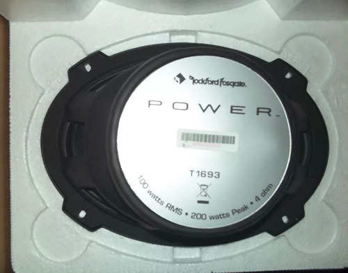 rockford t1693 profesionales línea power , traídos de eeuu !