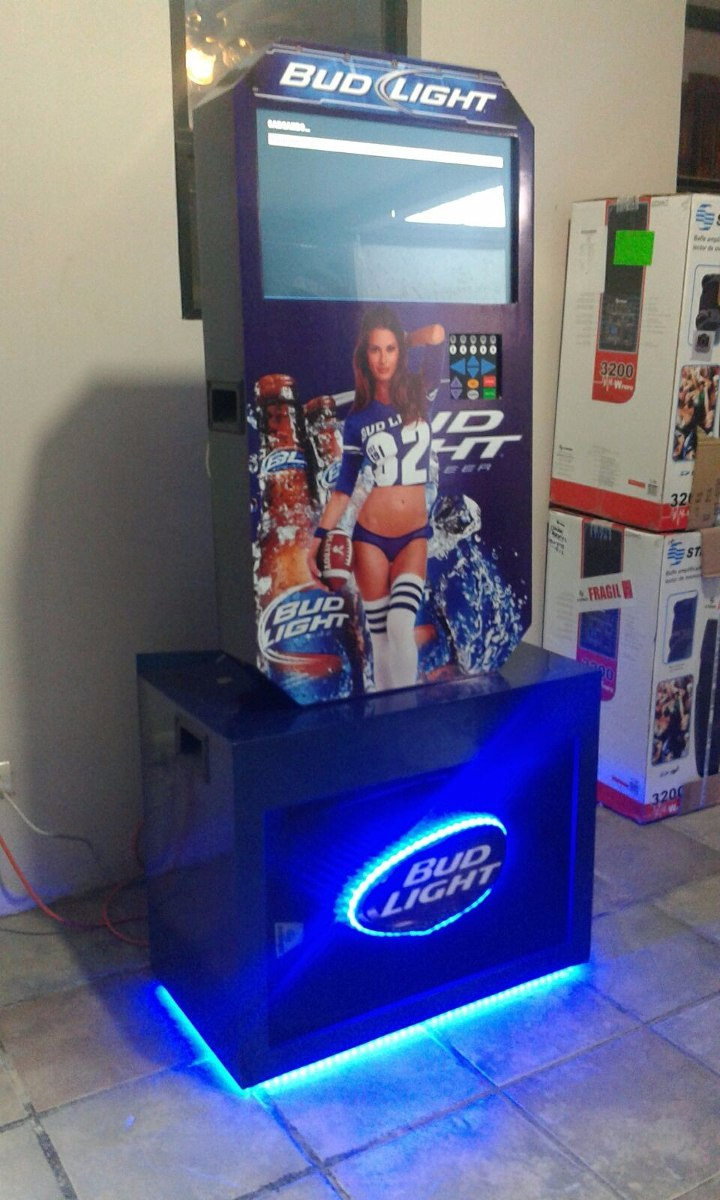 Rockola bud light 2 baffle 15 monedero 2018 for Pintura para racholas