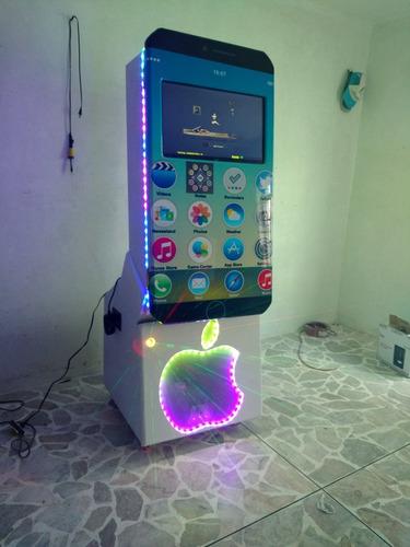 rockola karaoke 7plus, usb, bluetooh, dd 2tb,humo,lazer,rgb