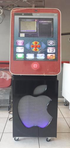 rockola karaoke big apple actualizada, led 19, 1tb, bafle 15