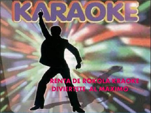 rockola karaoke renta