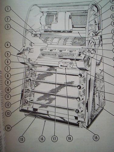 rockola model. select-o-matic v200 man. service