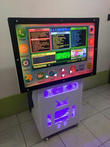 rockola modelo prime con software propio