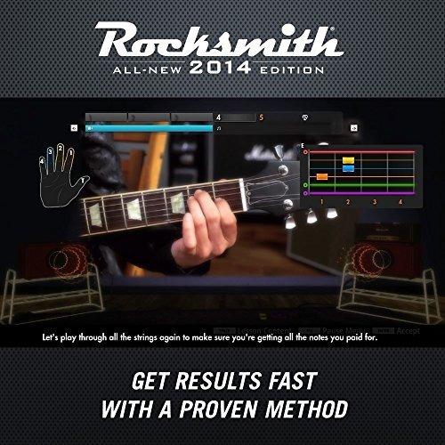 rocksmith edición 2014 - xbox 360(cable incluido)  en stock