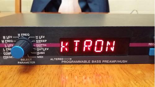rocktron programmable bass excelente usa (permuto también)