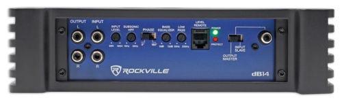 rockville db14 4000 watt / 2000w rms mono clase d amplifica