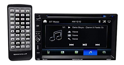rockville receptor bluetooth dvd iphone android