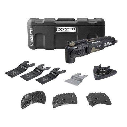 rockwell rk5131k 3.5a sonicrafter f30 kit con hyper bloqueo