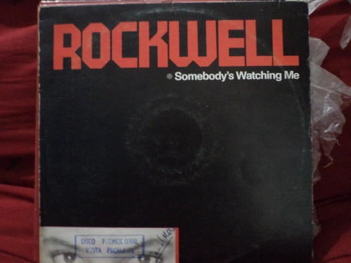 rockwell somebody's watching me  - lp