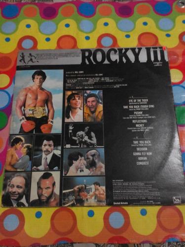 rocky 3 lp original motion picture score 1976. importado usa