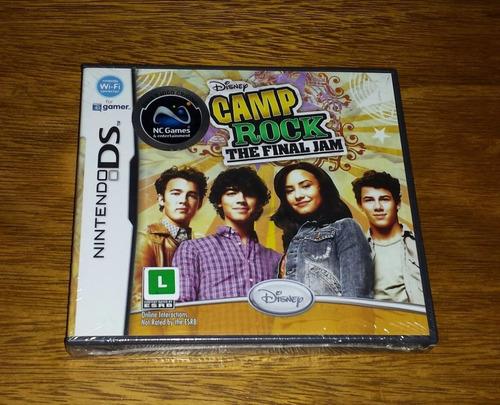 rocky camp the final jam nintendo ds roda no 3ds nds dsi