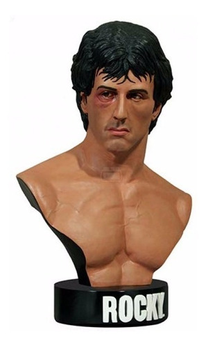 rocky - life size bust 1:1 - hollywood collectibles