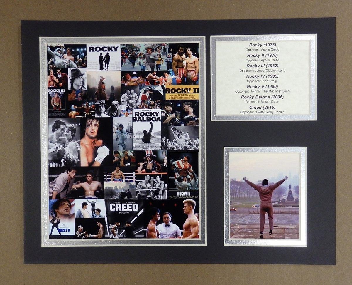 Rocky - Mosaic - Collage De Fotos Con Marco Sin Enmarcar ...