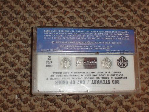 rod stewart. cassette. fuera de servicio. 1988. edic. mexico