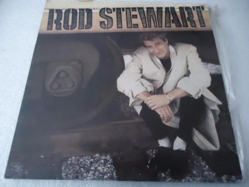 rod stewart / every beat of my heart vinyl lp acetato