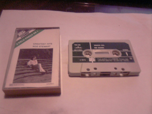 rod stewart greatest hits cassette brasil