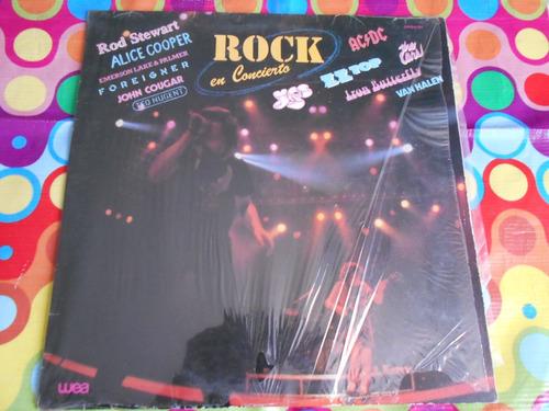 rod stewart lp rock en concierto