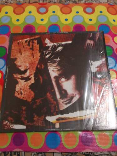 rod stewart lp vagabond heart 1989