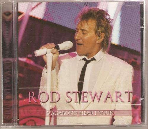 rod stewart - vagabond heart tour cd novo original raro lacr