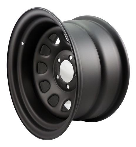 roda 15x8 furação 5x114,3 daytona black em ferro