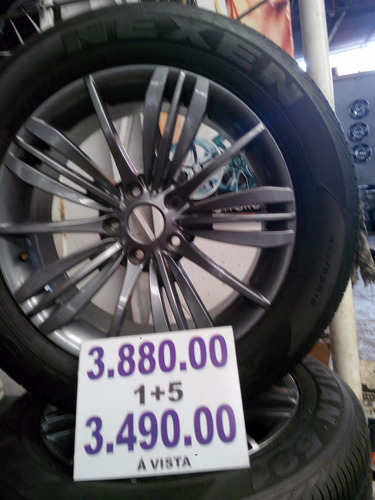 roda 18x8 5x120  bww c pn 235/60/18 x1/x5/s10/blazer/amarok