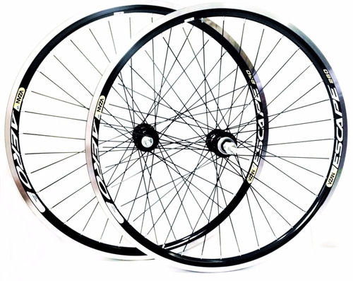 roda aero 26 completo raio grosso (par) black friday