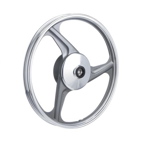 roda aluminio dianteira temco centauro cinza biz 125-