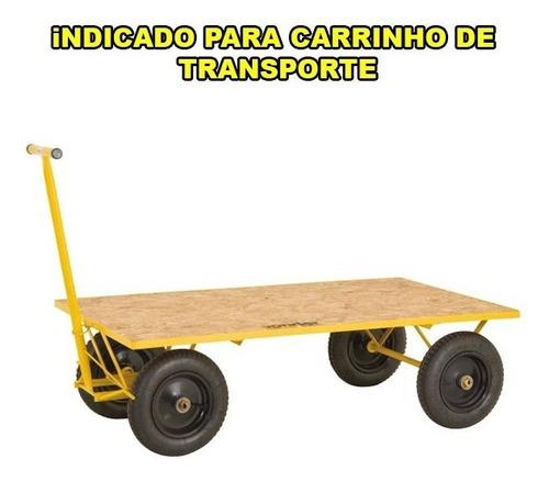 roda aro metalico 8  para carrinho de mão 3,25 x8 vonder