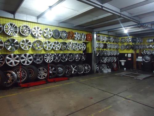 roda astra ss 17 prata e grafite nova (jogo)