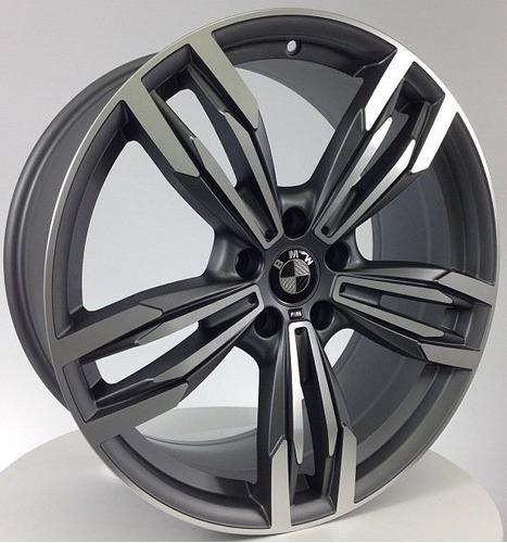 roda bmw m6 grand coupé aro 18 4x100/5x100/112 jogo