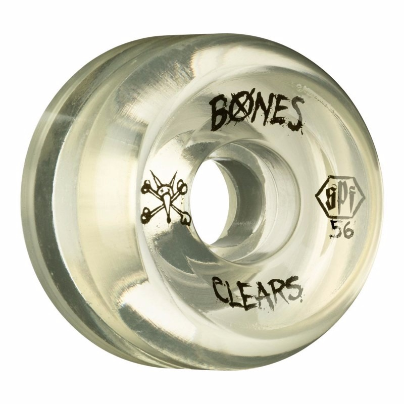 roda bones clear (natural) skatepark 56mm   84b. Carregando zoom. 24438b26a5a