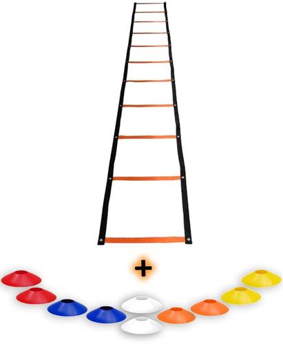 roda + chines + corda + mini rubber + fita tipo trx + escada