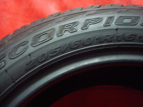 roda com pneu ecosport pirelli scorpion 205/60/16 original