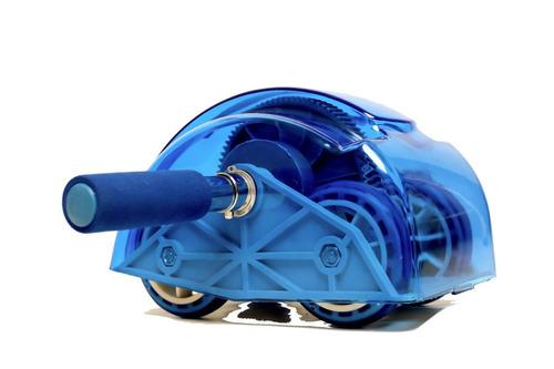 roda de abdominal e lombar slider wheel roller com retorno