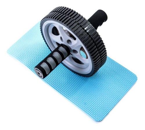 roda de abdominal e lombar - wct fitness