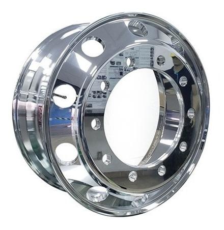 roda de alumínio caminhão 22,5 x 8,25 furo redondo bz