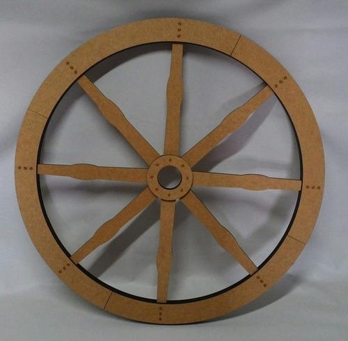 roda de carroça 3d  mdf decoração festa rustica colonial