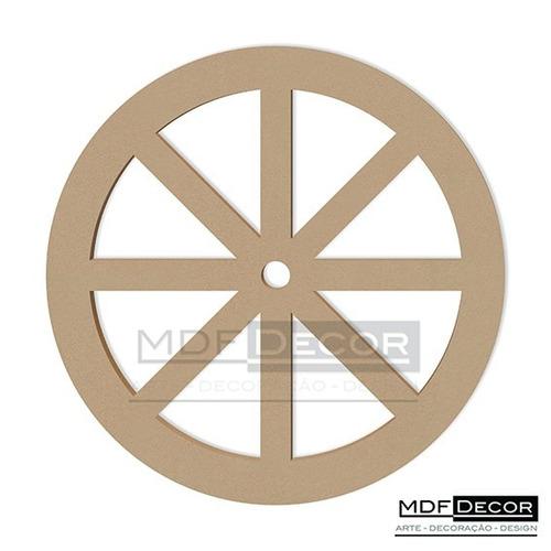 roda de carroça mdf 40 cm decoração festas provençal rc-002