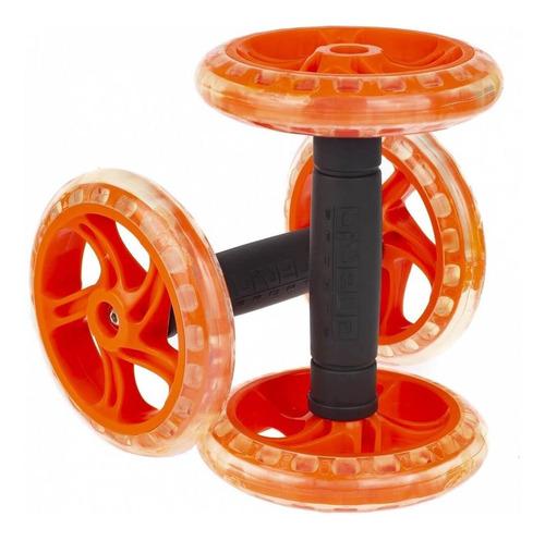 roda de exercício abdominal dupla premium liveup whell
