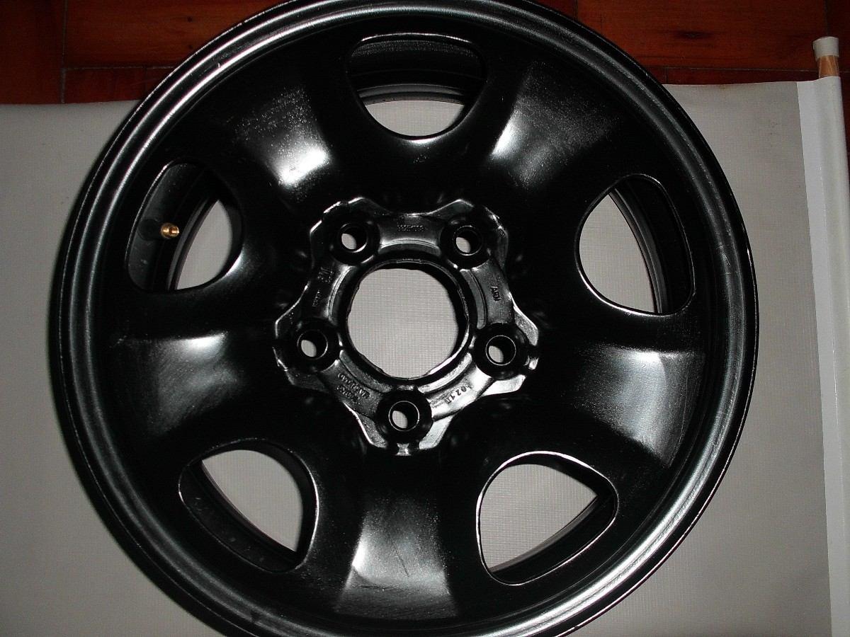 Roda De Ferro S10 Aro 15 Semi Nova Original Gm Preta 5