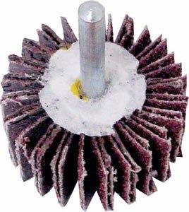 roda de lixa com pino p/furadeira 50 x 25 x 120 com 5 pçs