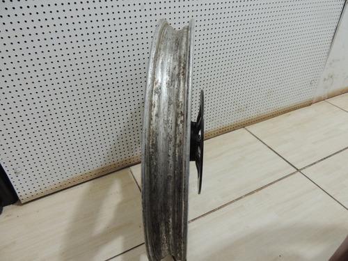 roda dianteira com disco da suzuki entrud 125 original