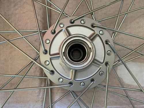 roda dianteira titan 150 2003/2008 esd freio disco orignal