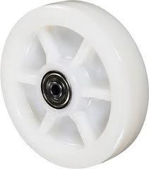 roda direcional de nylon para paleteiras   com rolamento