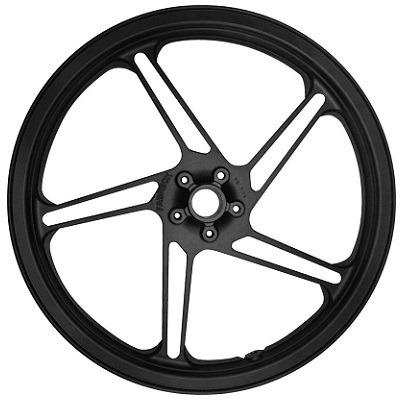 roda esportiva preta (modelo cg 2014) fabreck titan 150 04/0