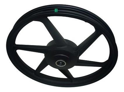 roda esportiva preta (modelo mix) scud ybr 125   (disco)