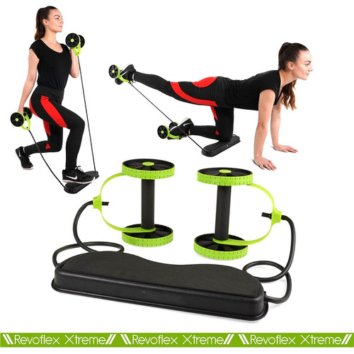 roda exercício abdominal revoflex xtreme envio expresso