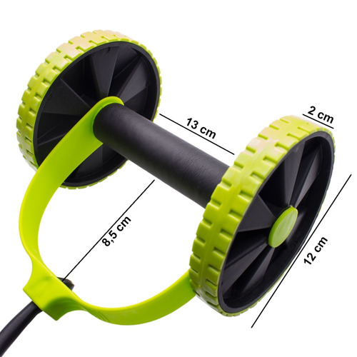 roda exercícios abdominais revoflex frete grátis